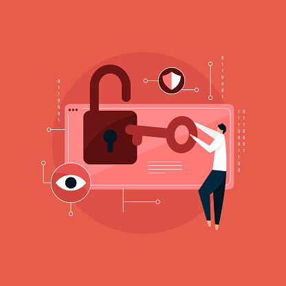 become a cyber security professional concept, Data Protection
