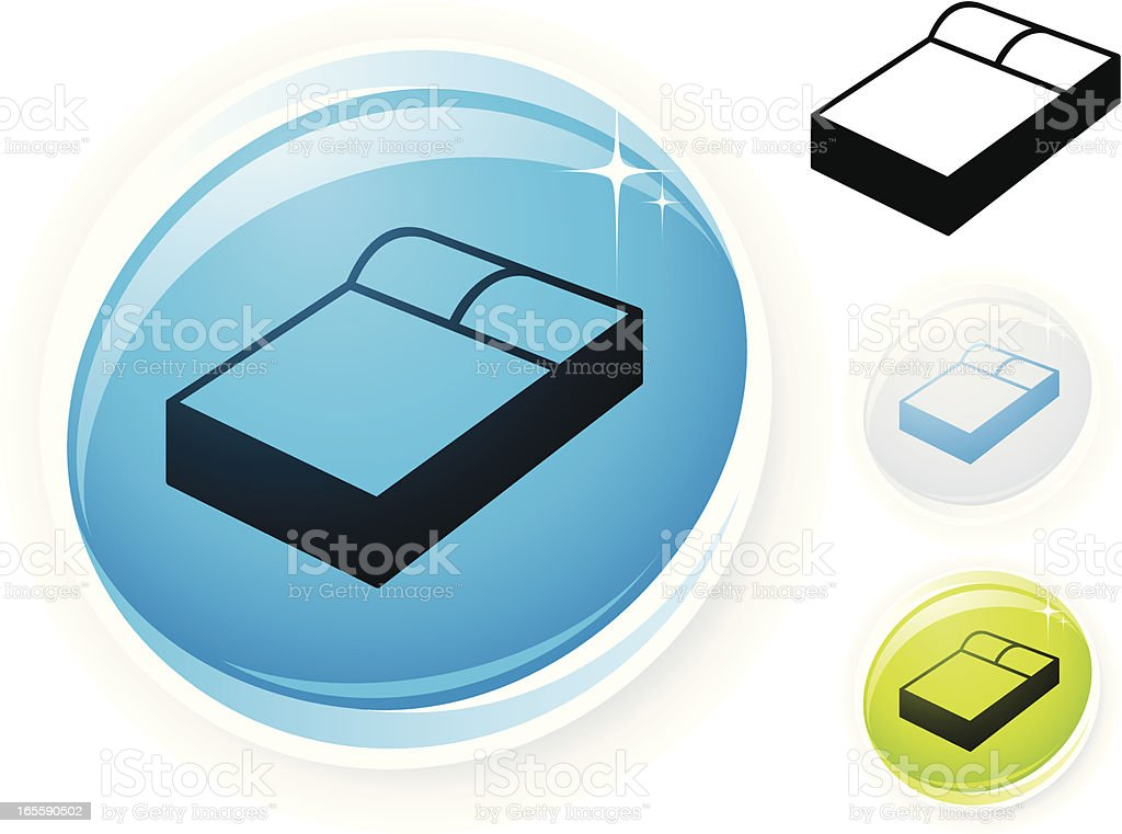Bed icon royalty-free bed icon stock vector art & more images of bed