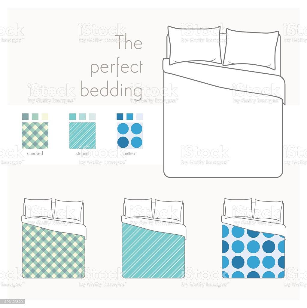 vue de dessus de lit avec les motifs cliparts vectoriels et plus d 39 images de affaires finance. Black Bedroom Furniture Sets. Home Design Ideas