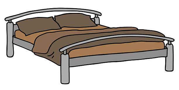 Royalty Free Metal Bed Frame Clip Art Vector Images Illustrations