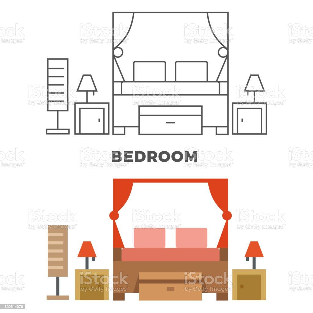 Schlafzimmer Lampe Flach. Schlafzimmer Tapete Trends Deko