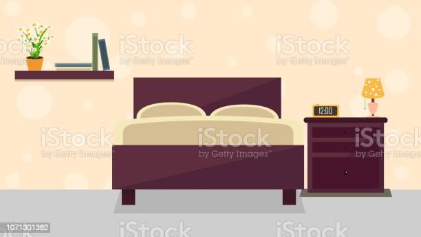 Bedroom interior illustration vector id1071301382?b=1&k=6&m=1071301382&s=612x612&h=uqihcp9 aghzws qzs 7hoyadlnrkporf9do96gpnc0=