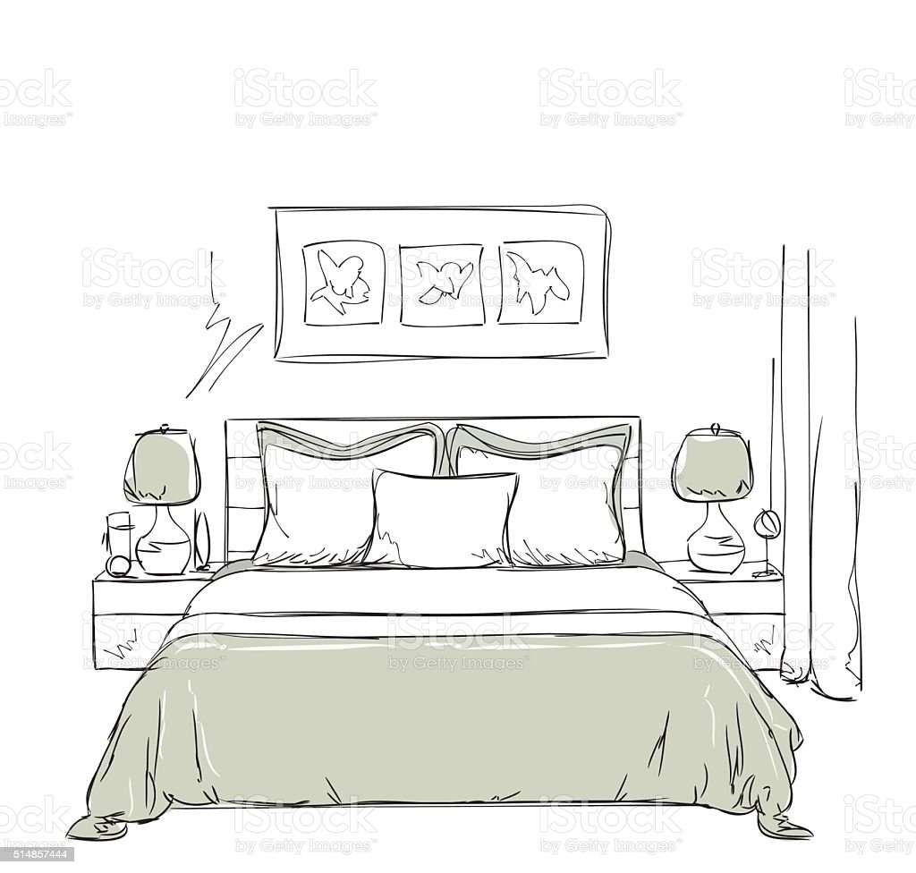 Küchentisch Zeichnen: Schl Sselwort Album Raum Zentralperspektive Zimmer Of