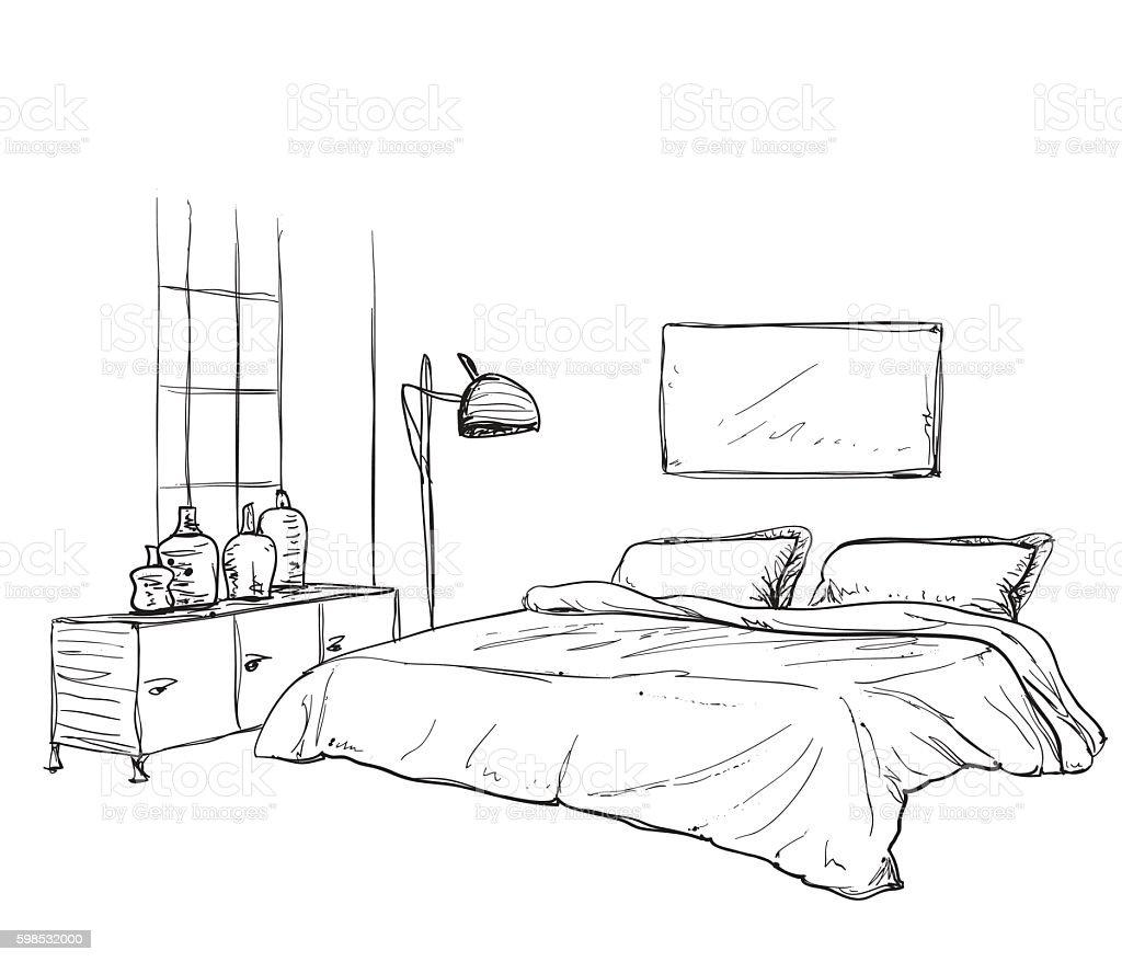 Dormitorio dibujo for Dormitorio para dibujar