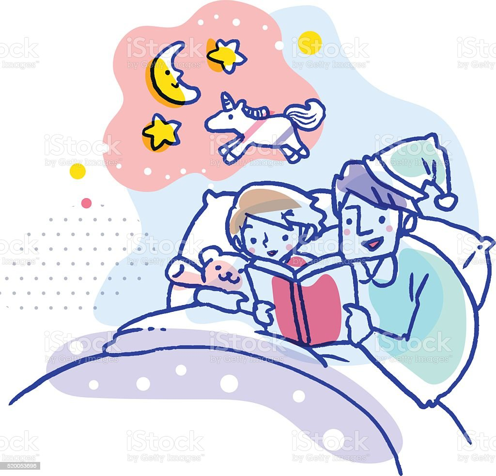 top 60 bedtime story clip art vector graphics and