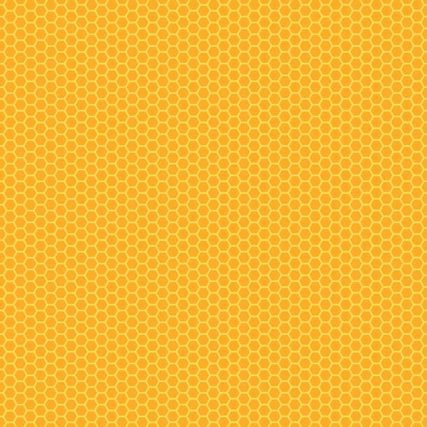 illustrazioni stock, clip art, cartoni animati e icone di tendenza di bee honeycomb texture - favo
