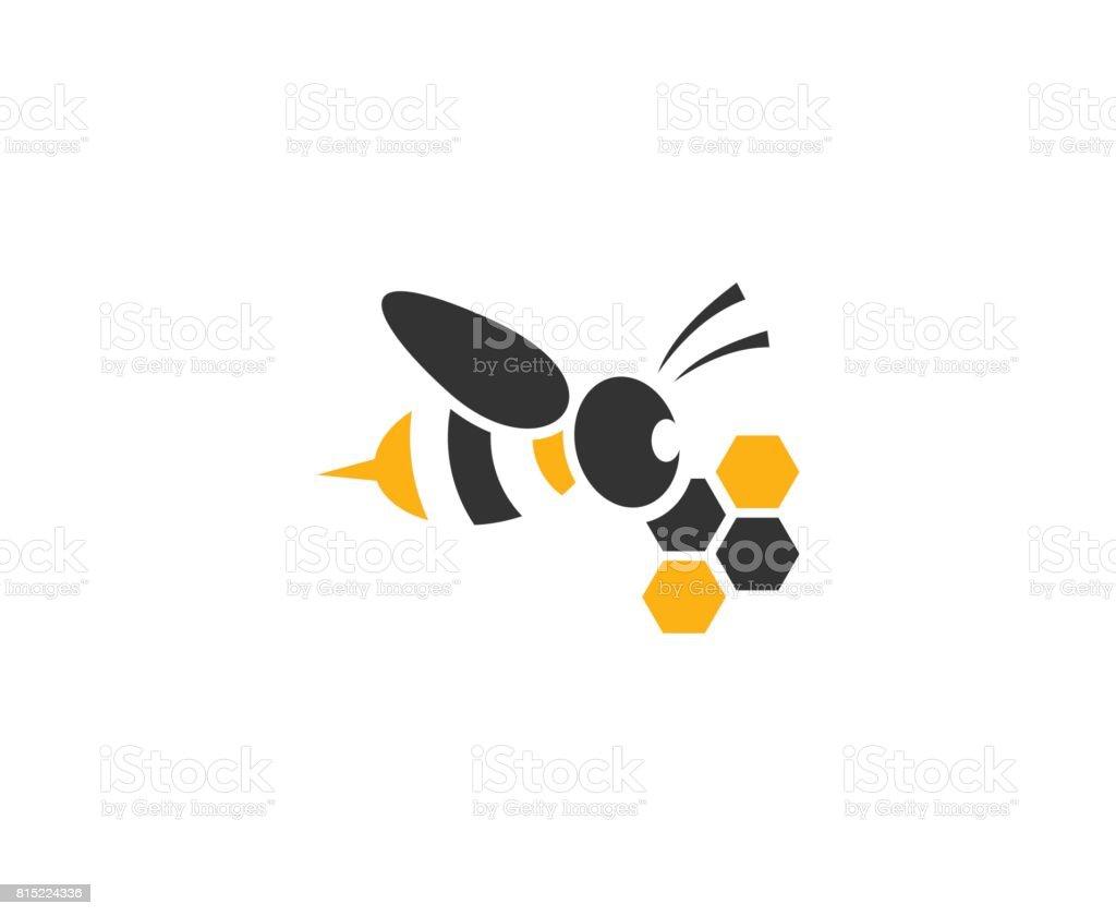 Biene-Symbol – Vektorgrafik