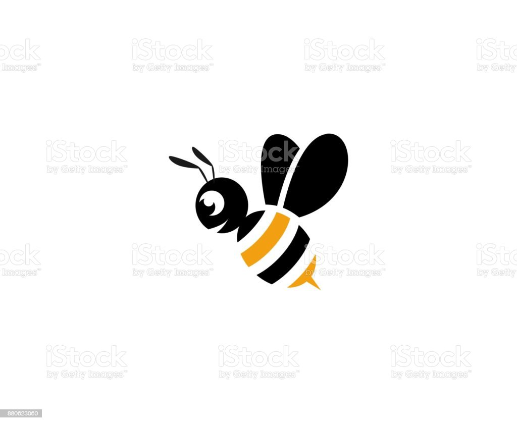 Abeille icône - Illustration vectorielle