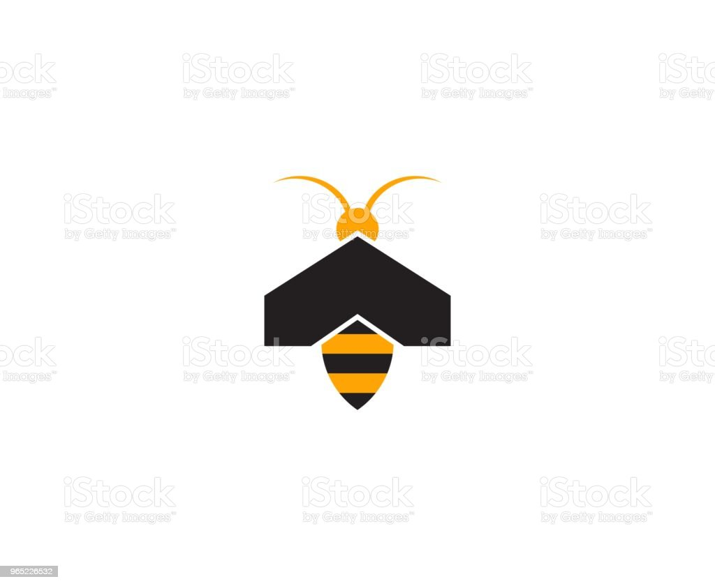 Bee icon royalty-free bee icon stock vector art & more images of abstract