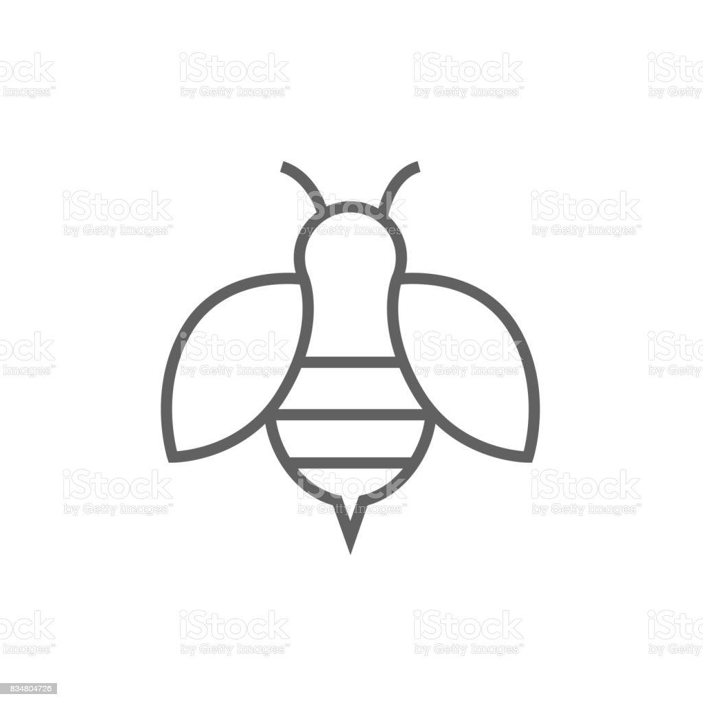 Bee Line アイコン Eコマースのベクターアート素材や画像を多数ご用意