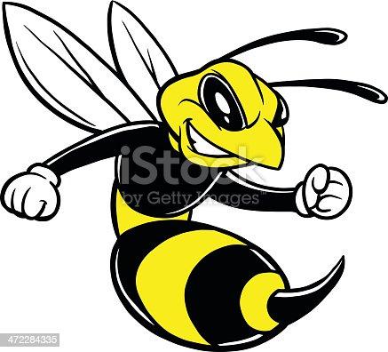 istock Bee Mascot 472284335