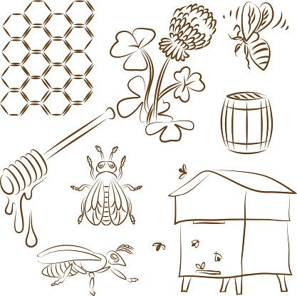 Bee set