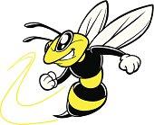 istock Bee Team Mascot 481968535