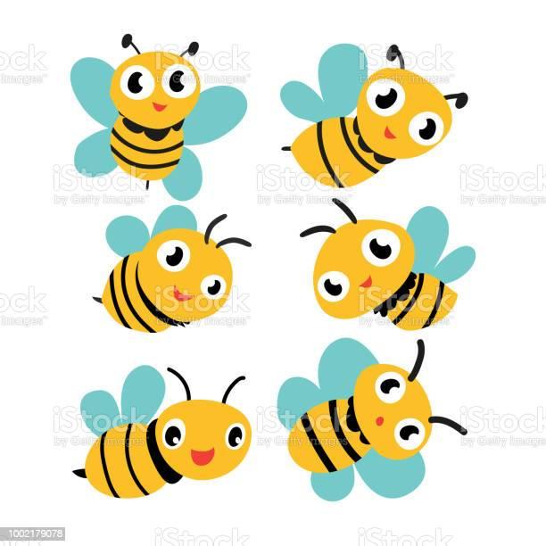Bee vector collection design vector id1002179078?b=1&k=6&m=1002179078&s=612x612&h=59pdzyckzue8fbd9fpcesnc0ua10fye2szj5qvzd1u4=