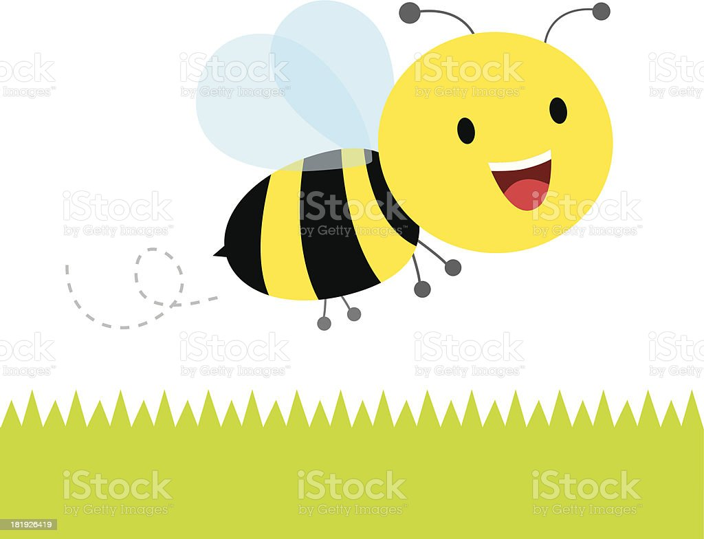 Bee royalty-free bee stock vector art & more images of animal
