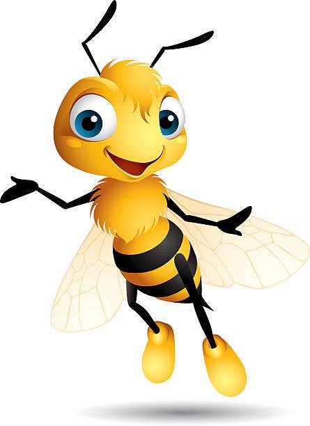ilustrações, clipart, desenhos animados e ícones de abelha - bee