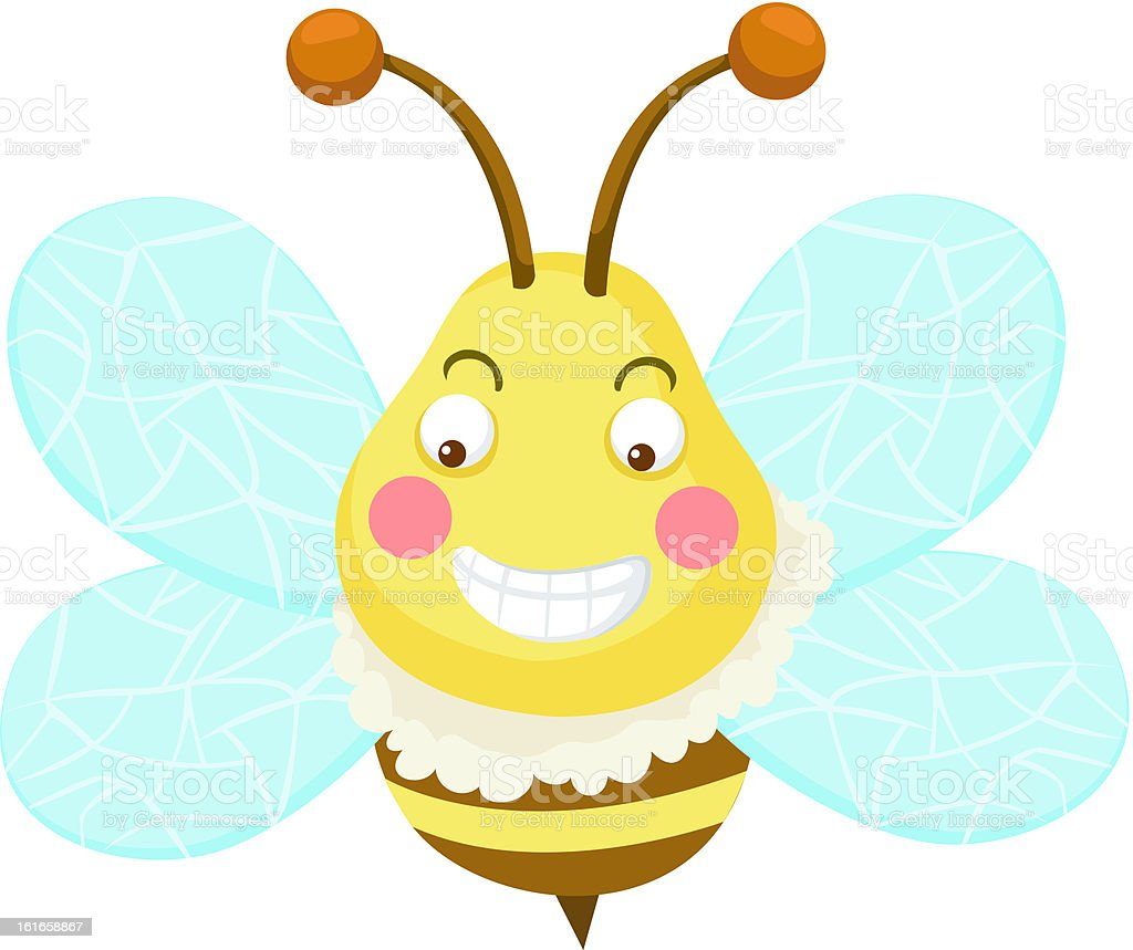 bee vector royalty-free stock vector art