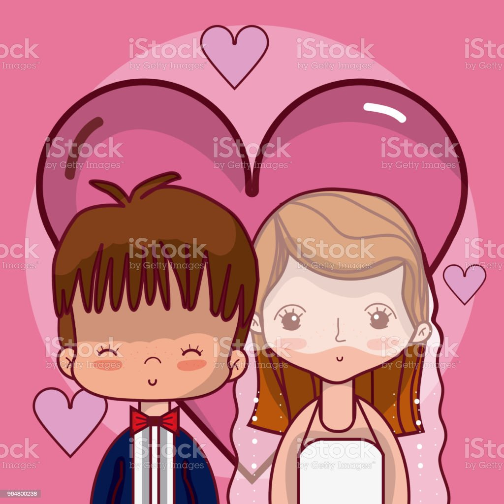 Beeautiful wedding couple cartoon royalty-free beeautiful wedding couple cartoon stock vector art & more images of adult