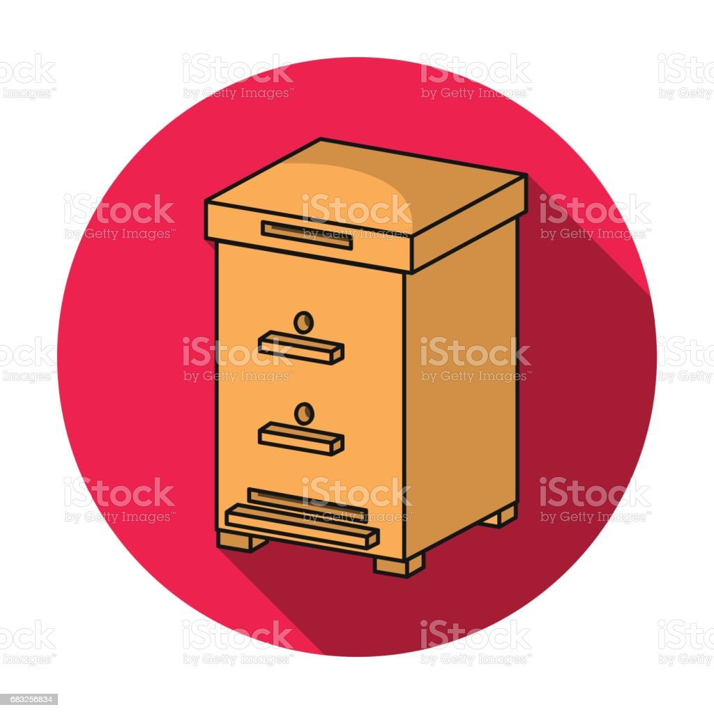 Beehive icon in flat style isolated on white background. Apairy symbol stock vector illustration 免版稅 beehive icon in flat style isolated on white background apairy symbol stock vector illustration 向量插圖及更多 -動物群 圖片