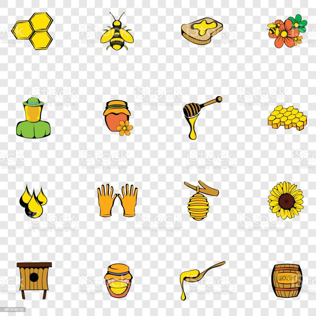 Beekeeping set icons royalty-free beekeeping set icons stock vector art & more images of bee