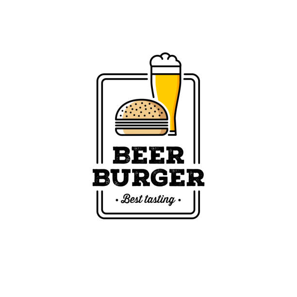 Burger Logo Vector Art Graphics Freevector Com