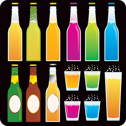 Beer and Soda Bottles