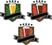 the best beer award, 3 colors models