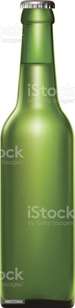 Beer Bottle vector art illustration