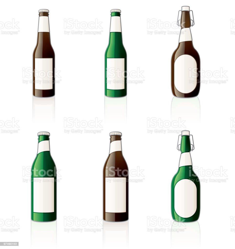 Beer bottles royalty-free beer bottles stock vector art & more images of alcohol