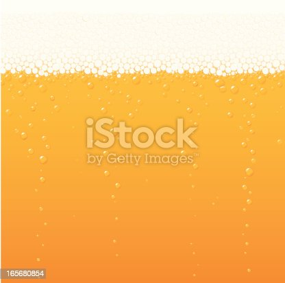 Vector illustration of beer bubbles