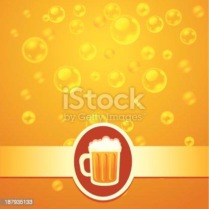 istock Beer bubbles 187935133