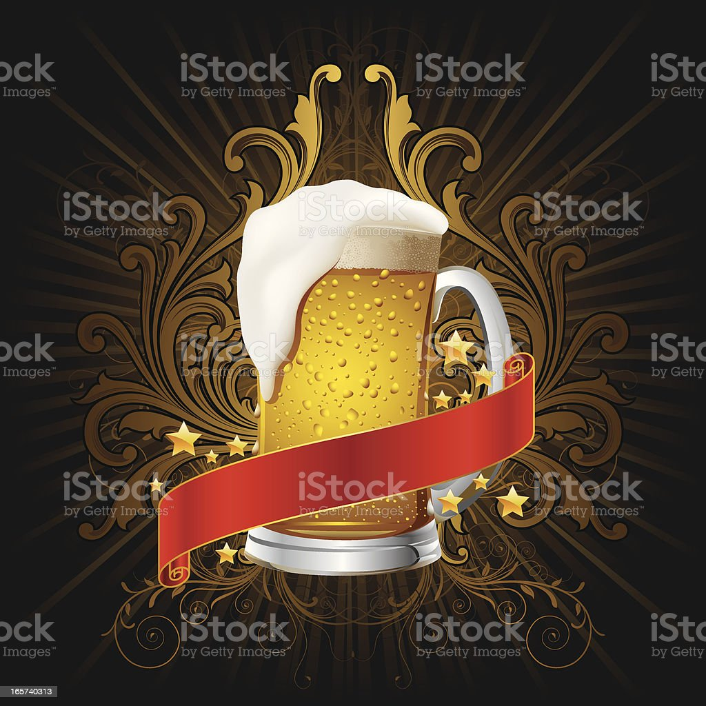 Beer celebration Background royalty-free stock vector art
