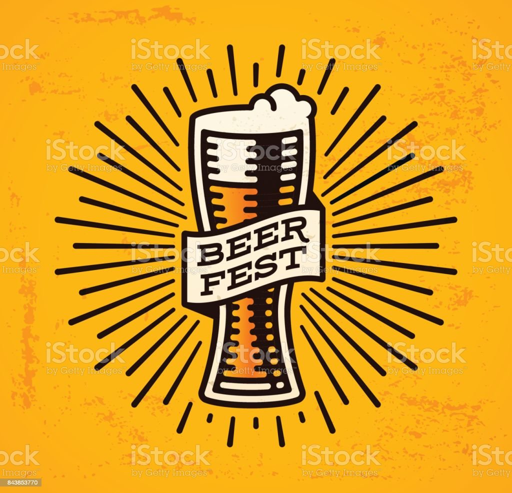 Beer Fest vector art illustration