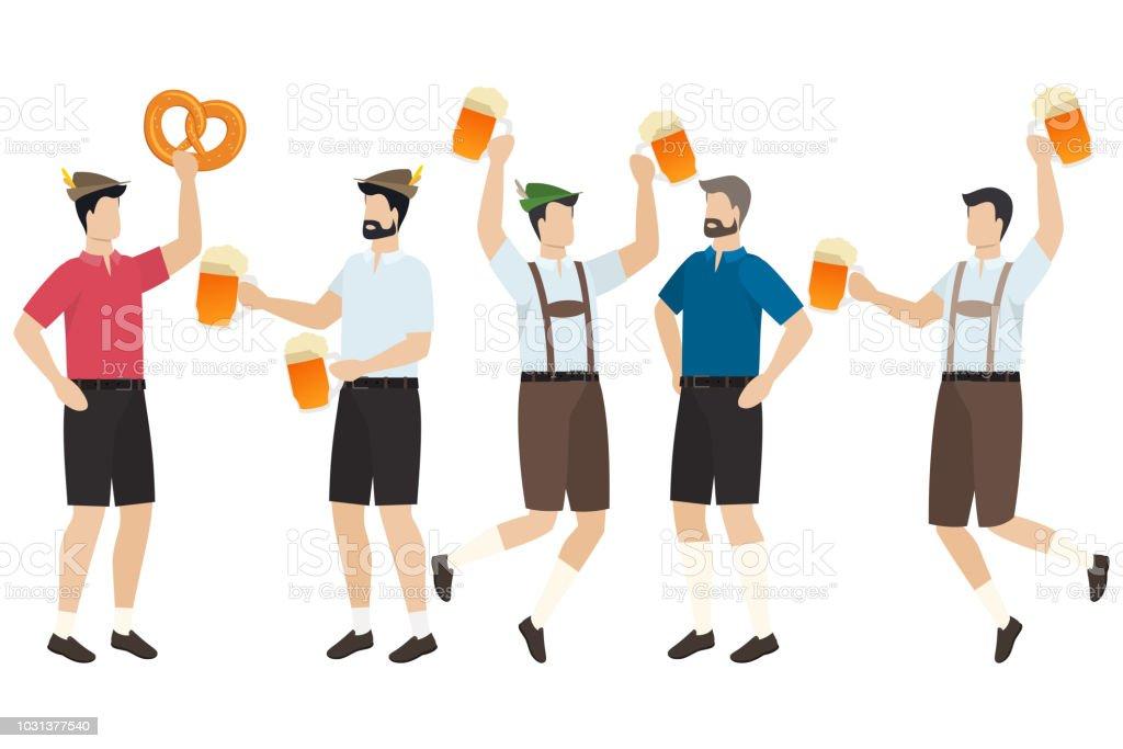 Bierfest Oktoberfest – Vektorgrafik