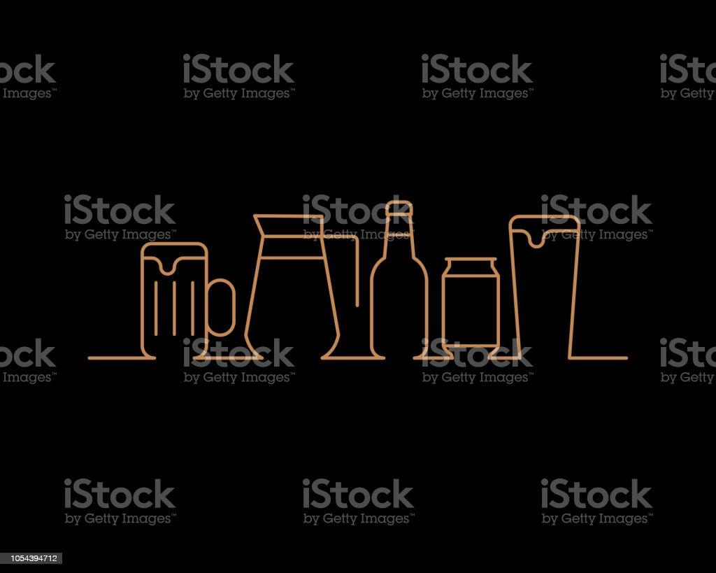 Bierfest – Vektorgrafik