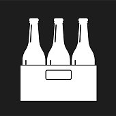 A flat design icon from a set of barbecue themes icons.