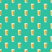 istock Beer Glass Pub Pattern 1181476321