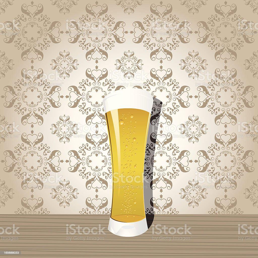 Beer Glass royalty-free stock vector art