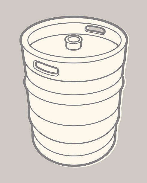 beer keg - bachelor party stock illustrations, clip art, cartoons, & icons