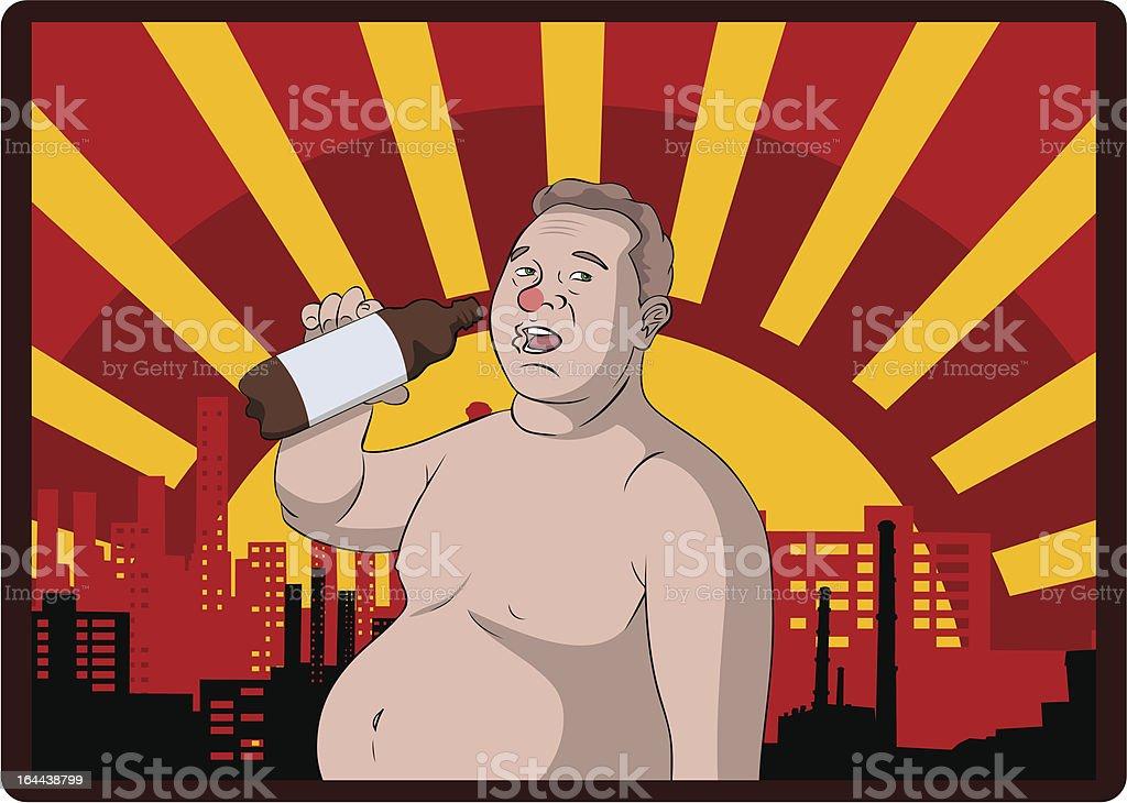 beer lover royalty-free stock vector art