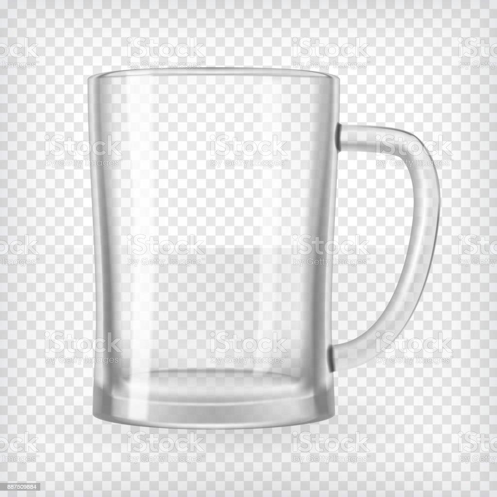 Beer mug vector art illustration