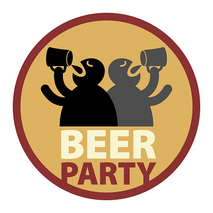 Beer Party drink label