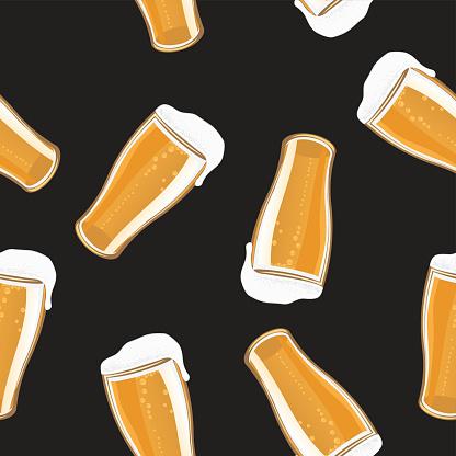 Beer Pint Background