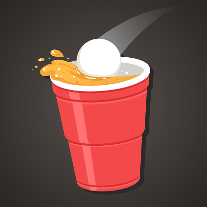 Beer Pong illustration