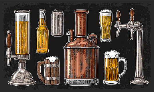 Beer stock illustrations