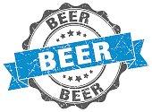 beer stamp. sign. seal