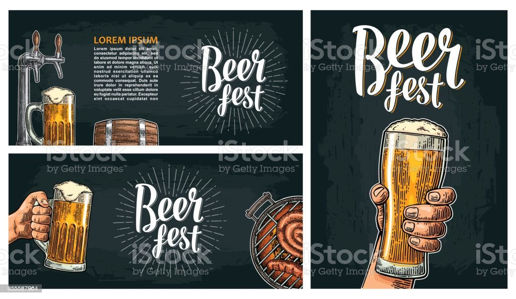 Beer tap. Vintage vector engraving illustration for web, poster, invitation to beer party. vector art illustration