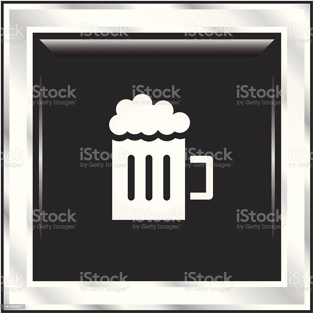 Beer | The Blackest Icon Series royalty-free beer the blackest icon series stock vector art & more images of alcohol