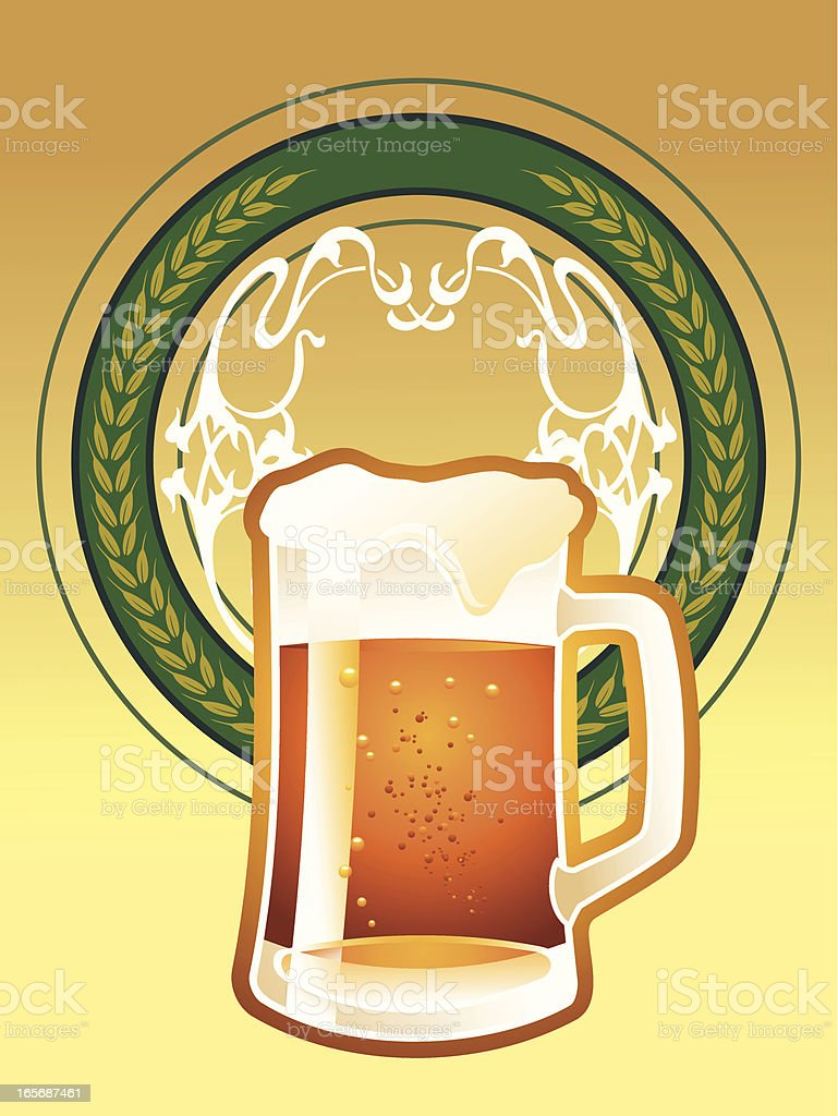 beer royalty-free stock vector art