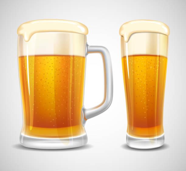 Cerveja - ilustração de arte em vetor